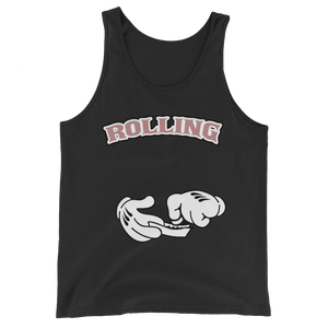 Rolling (Elemental Rose Foams) Tank Top - HaveFaithClothingCo