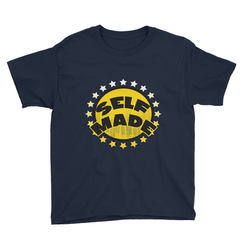 Self Made (Michigan 12's) Youth Short Sleeve T-Shirt - Shop Men, Women, Kids clothing and accessories To Match Your Kicks online