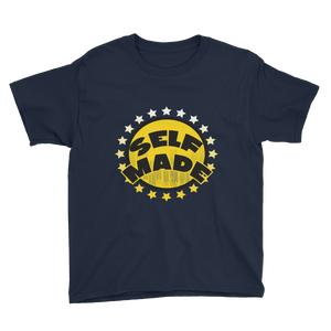Self Made (Michigan 12's) Youth Short Sleeve T-Shirt - HaveFaithClothingCo