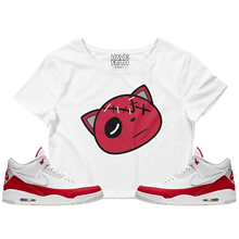 Have Faith (Tinker University Red 3's) Crop Top - HaveFaithClothingCo