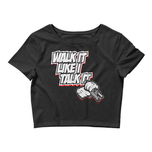 Walk It Like I Talk It (Tinker NRG 3s) Women's Crop Tee - HaveFaithClothingCo