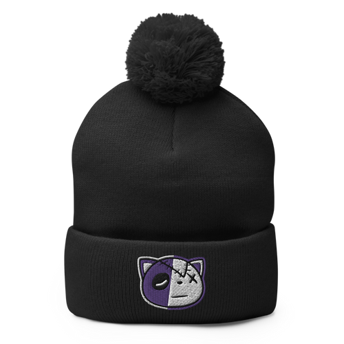 Have Faith (Dark Concord Retro 12's) Pom-Pom Beanie - Shop Men, Women, Kids clothing and accessories To Match Your Kicks online