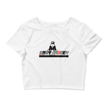 Easy Money (White Cement 3s) Women's Crop Tee - HaveFaithClothingCo