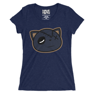 Have Faith (Midnight Navy Foams) Ladies' T-Shirt - HaveFaithClothingCo