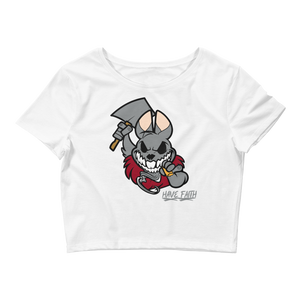 Bad Bunny (Katrina 3s) Crop Top - HaveFaithClothingCo