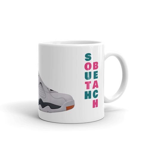 Air Jordan Retro 8 South Beach Mug - HaveFaithClothingCo