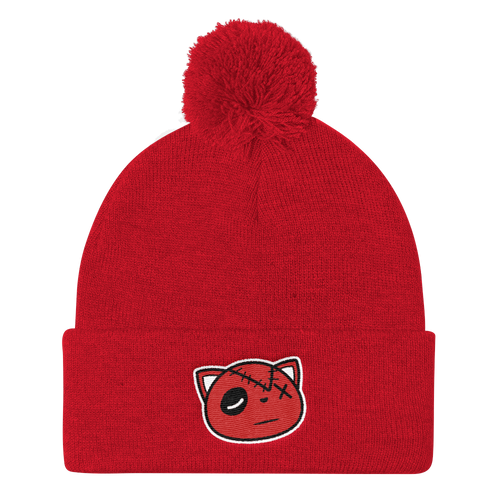 HF Logo (Red Cement Retro 3's) Beanie - Shop Men, Women, Kids clothing and accessories To Match Your Kicks online