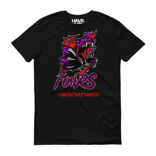Raptor Fours (NRG Raptor 4's) T-Shirt - HaveFaithClothingCo