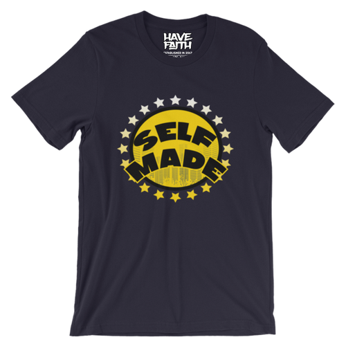 Self Made (Michigan 12's) T-Shirt - HaveFaithClothingCo