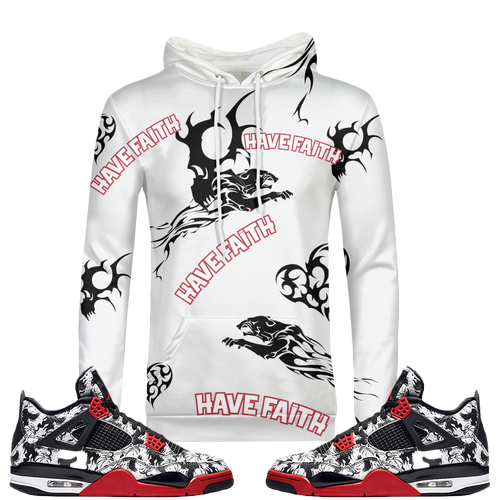 Tatted Have Faith (Tattoo 4's) Hoodie