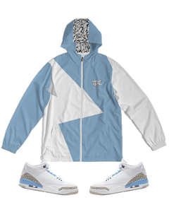 Have Faith (UNC Retro 3's) Windbreaker - HaveFaithClothingCo