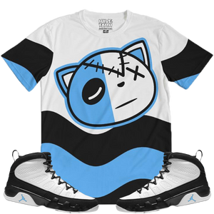 HF Wave (UNC Retro 9's) T-Shirt - Shop Men, Women, Kids clothing and accessories To Match Your Kicks online