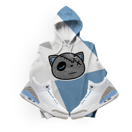 Have Faith (UNC Retro 3's) Kids Hoodie - HaveFaithClothingCo