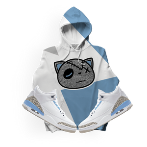 Have Faith (UNC Retro 3's) Kids Hoodie