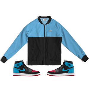 Have Faith (UNC To CHI Retro 1's) Bomber Jacket - HaveFaithClothingCo