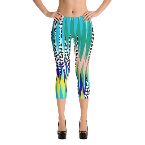Highland Ave Capri Leggings