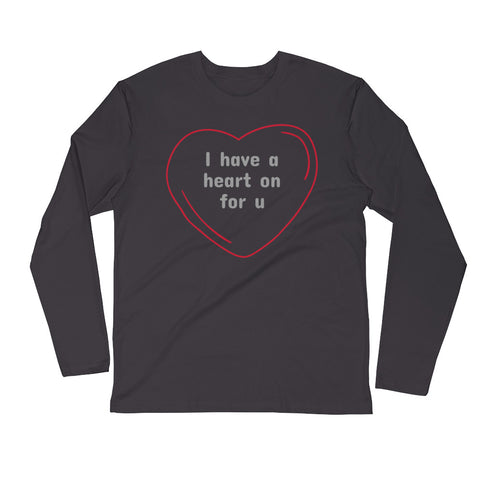 Heart On Long-Sleeved Tee