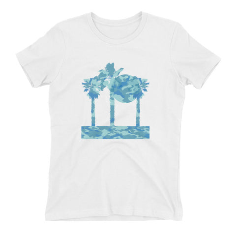Sunset Palms Tee