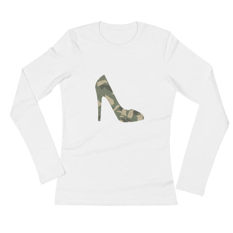 Camo Stiletto Long-Sleeved Tee