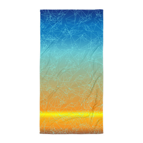 Geo Sunset Towel