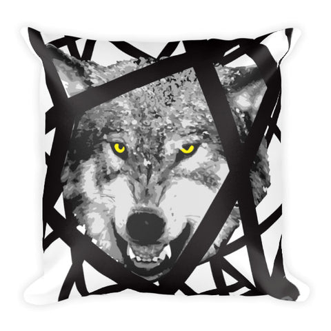 Wolf Like Me Square Pillow