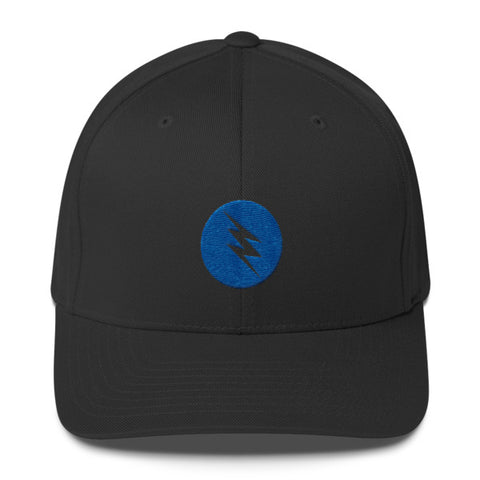 Circle Bolt Twill Dad Cap