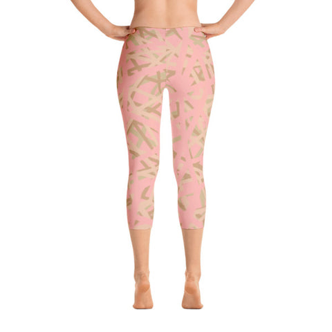 Nude Forest Capri Leggings