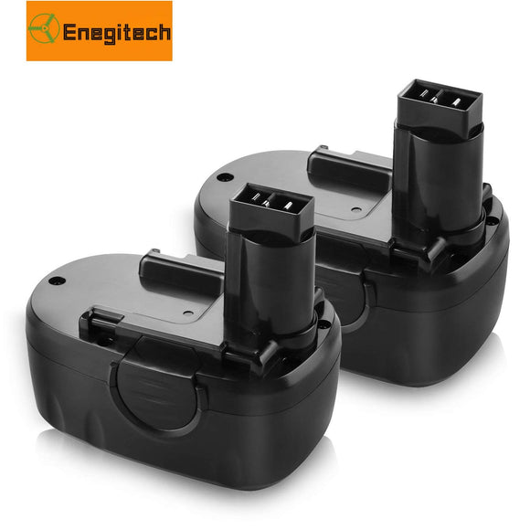 Enegitech 2 Pack WORX 18V 3.0Ah Battery Replacement for WA3127 WA3152 WG150 WG152 WG250 WG541 WG900 WG901 Cordless Power Tools