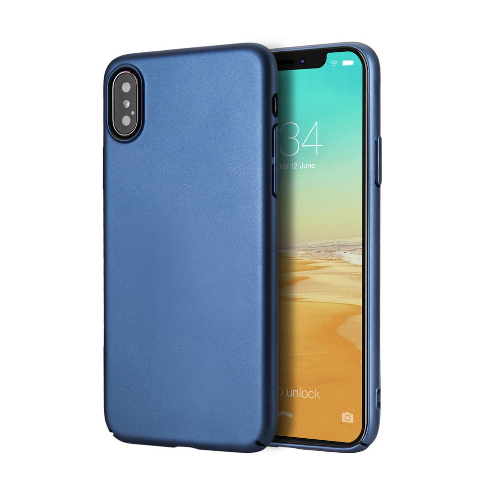 uk availability 9200c 7ef7f WEEVOO iPhone X/iPhone 10 Case Reinforced PC Material with Fine Finish  Cover [Full Protection] [Thin Slim Fit] [Anti Scratch] [Anti-Slip]  [Excellent ...