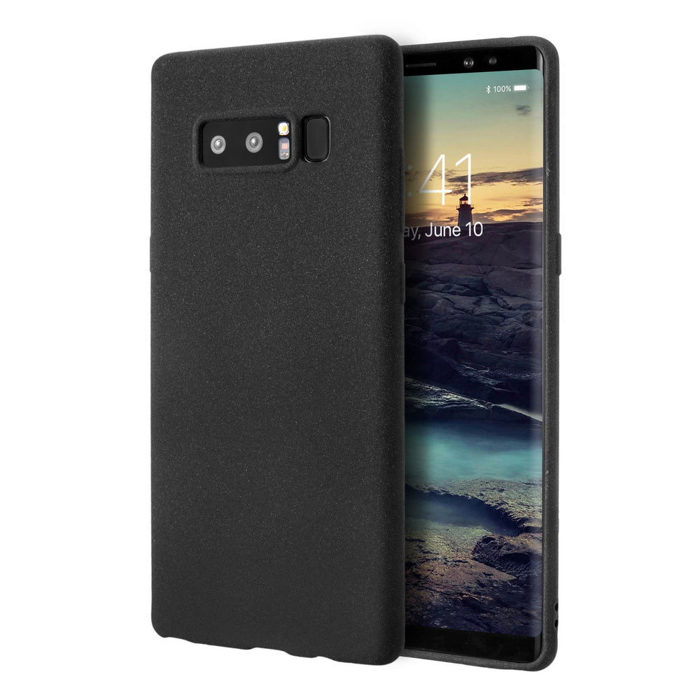 new product 16f30 e6163 WEEVOO Samsung Galaxy Note 8 Protective Case Matte Finish Flexible Soft TPU  Cover with [Thin Slim Fit] [Anti-Slip] [Anti Scratch] [Excellent Grip] for  ...