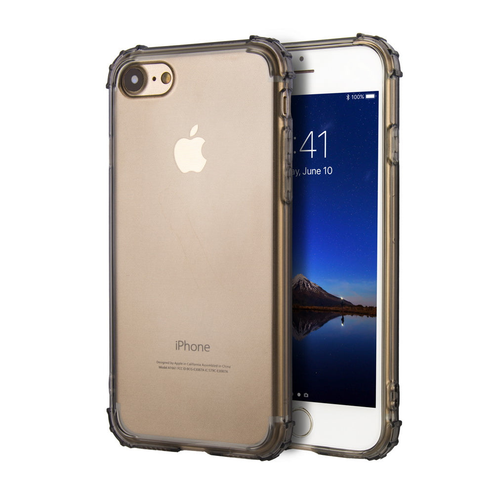 newest bc1c0 1111b Crystal Clear iPhone 7 Case/iPhone 8 Case with Enforced Corner Drop  Protection, [Thin Slim Fit] [Bumper Cushion] [Shock Absorption] [Anti  Scratch] ...