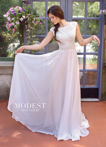 Mon Cheri Modest TR11841 - [Mon Cheri Modest TR11841] -  Buy a Mon Cheri Wedding Dress from Bridal Closet