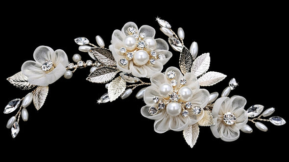 En Vogue HC1837 - [Bridal Hair Comb HC1837] - Wedding Accessories - Bridal Closet - Bridal Dresses and Accessories