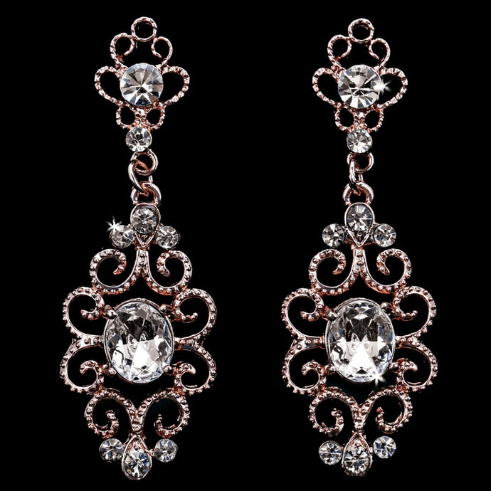 En Vogue E1871 - [Bridal Earrings E1871] - Wedding Accessories - Bridal Closet - Bridal Dresses and Accessories