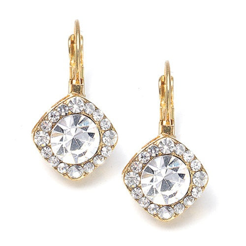 Sparkling tailored wedding or prom earrings are available in an array of colors at a great low price from the Bridal Closet in Utah! top-selling round solitaire crystal drop earrings wholesale stunning gold stunning earrings bridal store wedding shop special earrings sparkling #bridalearrings #weddingaccessories #utah #utahweddings #bridal #bride #formalearrings #bridalshop #wedding #earrings #brideaccessories