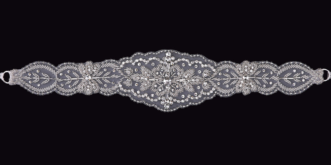 En Vogue BT1588 Belt - Bridal Accessories - Utah Wedding Accessories - Draper Bridal Store