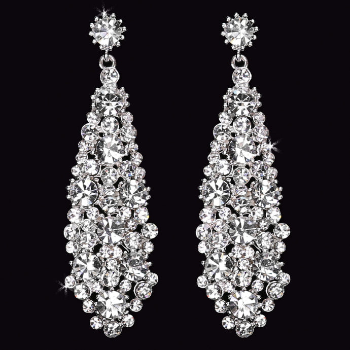 En Vogue E1562 - [Bridal Earrings E1562] - Wedding Accessories - Bridal Closet - Bridal Dresses and Accessories