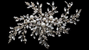 En Vogue HC1833 - [Bridal Hair Comb HC1833] - Wedding Accessories - Bridal Closet - Bridal Dresses and Accessories