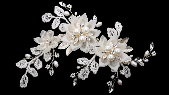 En Vogue HC1841 - [Bridal Hair Comb HC1841] - Wedding Accessories - Bridal Closet - Bridal Dresses and Accessories
