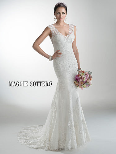 Maggie Sottero Melanie 4MS061 - [Maggie Sottero Melanie] -  Buy a Maggie Sottero Wedding Dress from Bridal Closet in Draper, Utah