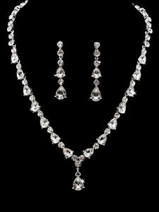 En Vogue NL1864 - [Bridal Necklace Set NL1864] - Wedding Accessories - Bridal Closet - Bridal Dresses and Accessories