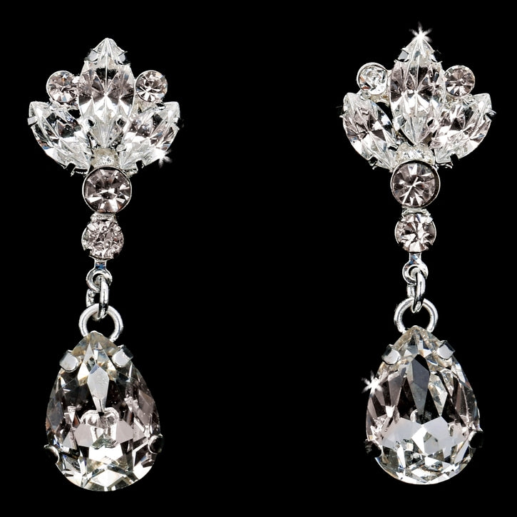 En Vogue E1872- [Bridal Earrings E1872] - Wedding Accessories - Bridal Closet - Bridal Dresses and Accessories