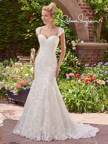 Rebecca Ingram Brenda 7RS303 - [Rebecca Ingram Brenda] -  Buy a Rebecca Ingram Wedding Dress from Bridal Closet in Draper, Utah