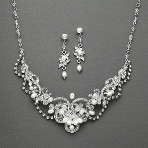 4061N Necklace-Bridal Jewelry, wedding jewelry, formal jewelry, bridal accessories, wedding accessories, formal accessories, bridal necklace, wedding necklace, formal necklace