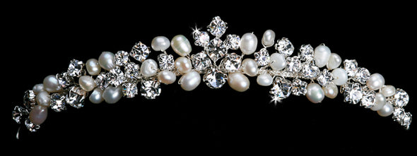 En Vogue T1202 - [Bridal Tiara T1202] - Wedding Accessories - Bridal Closet - Bridal Dresses and Accessories