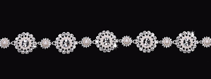 En Vogue HB1617 - [Bridal Bracelet HB1617] - Wedding Accessories - Bridal Closet - Bridal Dresses and Accessories