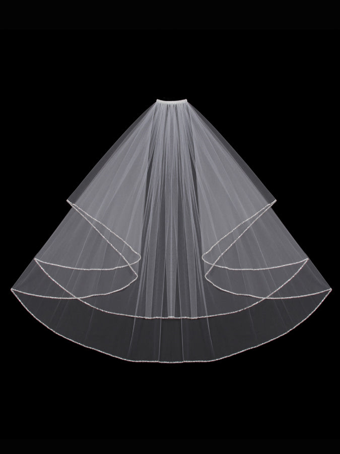 V303W Circle Cut Veil - Utah wedding accessories - Draper Bridal Store