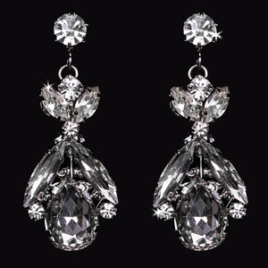 En Vogue E1763 - [Bridal Earrings E1763] - Wedding Accessories - Bridal Closet - Bridal Dresses and Accessories