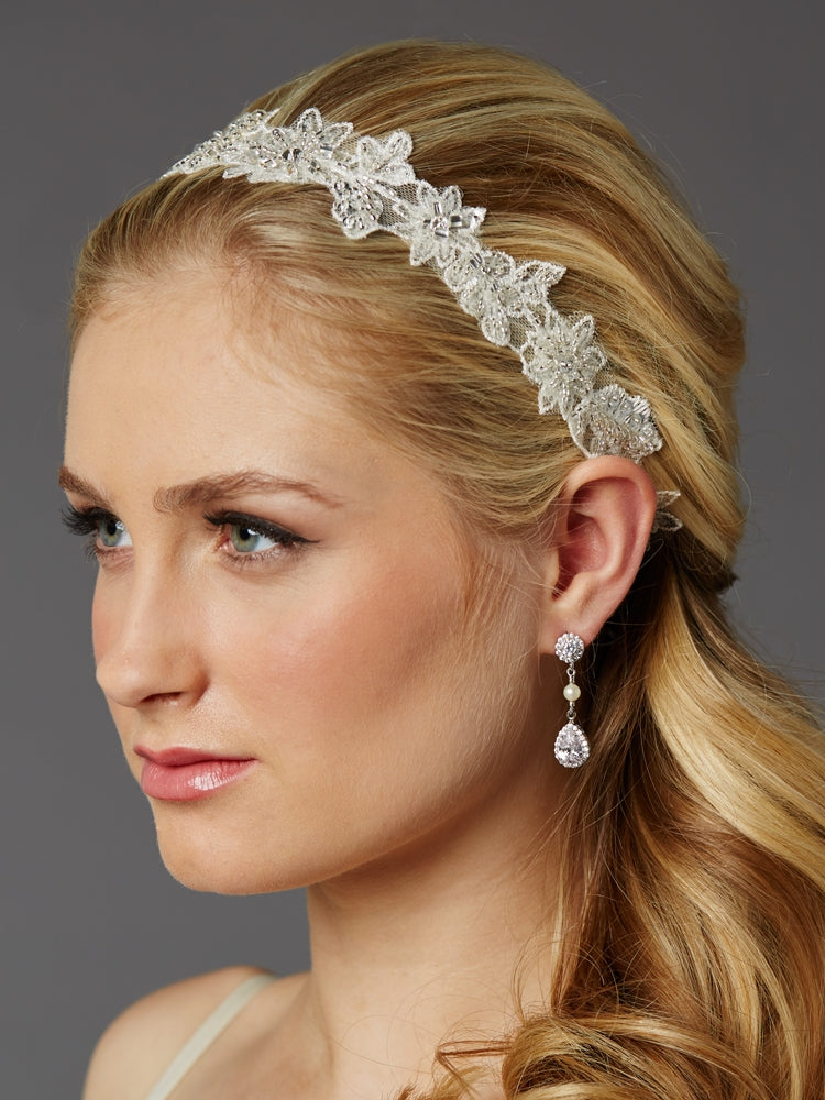 Mariell Headband 4454HB - Utah accessories - wedding headbands - bridal gowns - bridal jewelry - maggie sottero utah - sottero and midgley