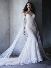 Maggie Sottero Cassandra Detachable Sleeves